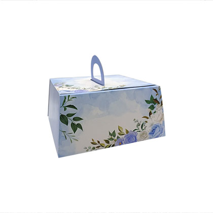 10 inch Pyramid Cake Box - 50 pcs