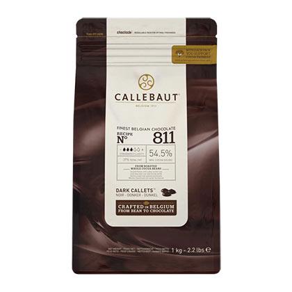 811 Dark Chocolate - 1 kg - Callebaut