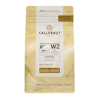 Callebaut W2 White - 1kg