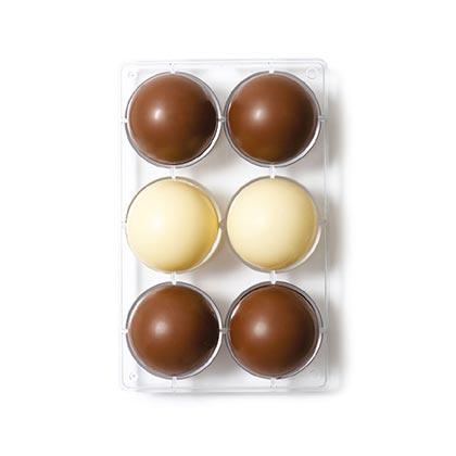 Chocolate Mould Hemisphere Dia 75 mm