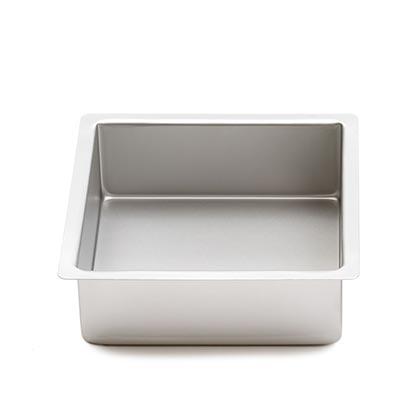 Aluminum Square Baking Pans 10 - 20 cms