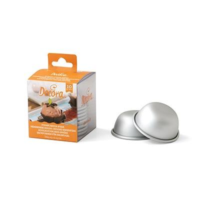 Aluminum Hemisphere Cake Pan 5 - 7 cms