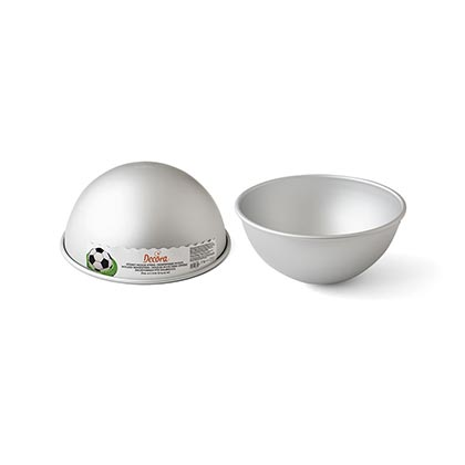 Aluminum Hemisphere Cake Pan 10 - 18 cms