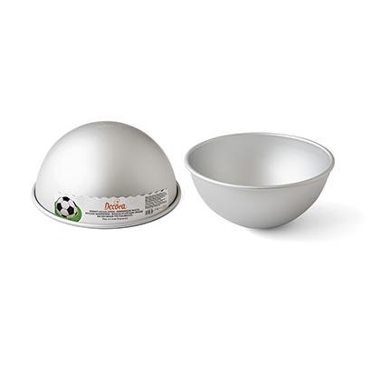 Aluminum Hemisphere Cake Pan 22-24 cms