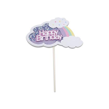 Happy Birthday Cloud Topper