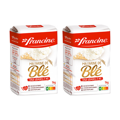 Francine French Baking Flour Pack of 2