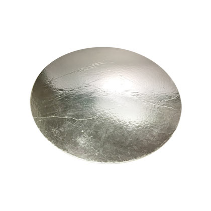Round Silver Cake Base - Pack of 5