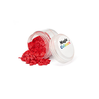 Shiny Red Lustre Dust by Magic