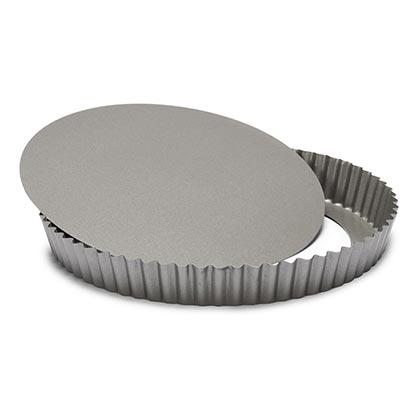 Side Groove Quiche Pan Dia 28 Cm