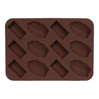 Silicone Chocolate Mold 17 X 12 cm