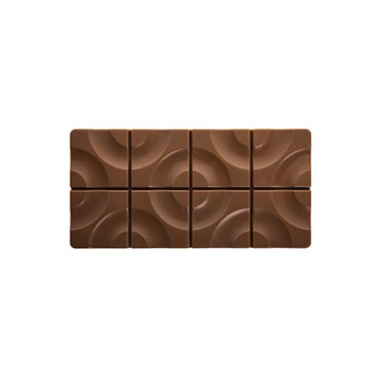Pavoni Target Chocolate Bar Mould