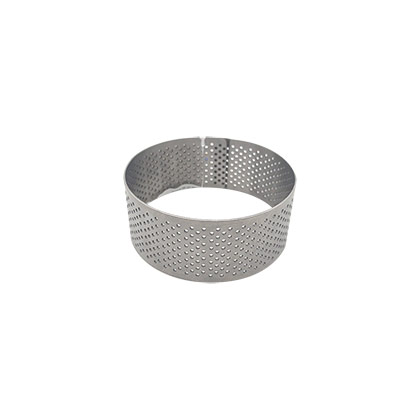 3 inch Perforated Round Tart Ring