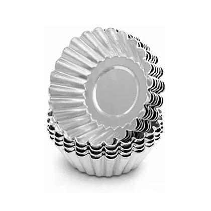 No 2 Aluminium Tart Mould - 5pcs