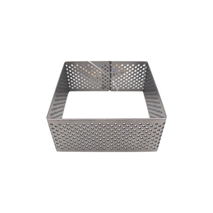 3 inch Perforated Square Tart Ring