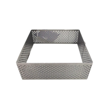 4 inch Perforated Square Tart Ring