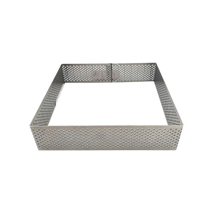 6 inch Perforated Square Tart Ring