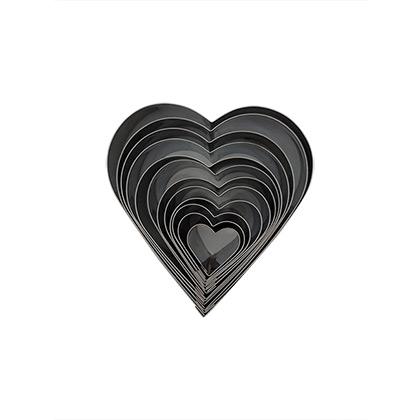 Heart Stainless Steel Cutter Set