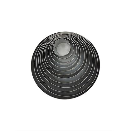 Round Stainless Steel Cutter Set