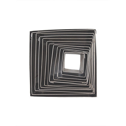 Square Stainless Steel Cutter Set