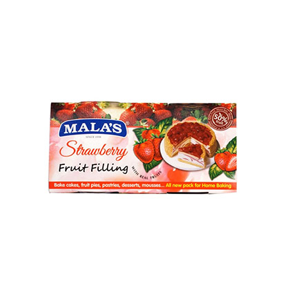 Malas Strawberry Fillings 200 gms