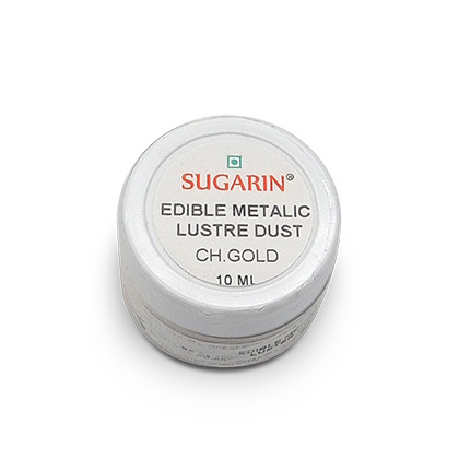 Sugarin Edible Champagne Gold Lustre Dust