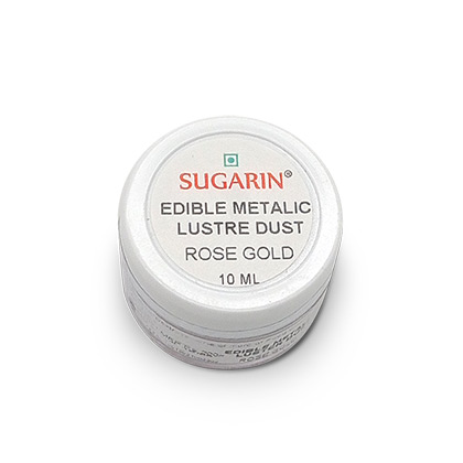 Sugarin Edible Rose Gold Lustre Dust