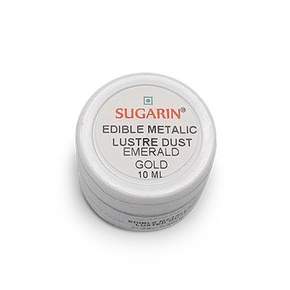 Sugarin Emerald Gold Edible Lustre Dust