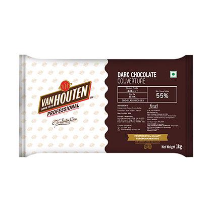 Van Houten 55% Dark Couverture - 10kgs