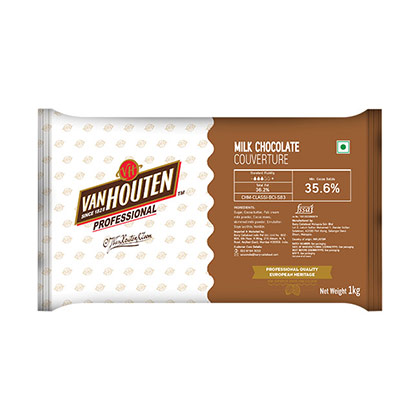 Van Houten  Milk Couverture - 10kgs