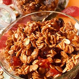 Healthy & Delicious Granola