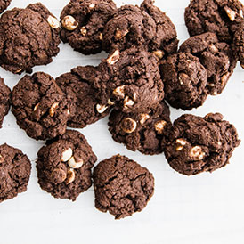 Gluten Free Almond Chocolate Cookies