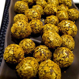 Chilli Spiced Rolled Truffles