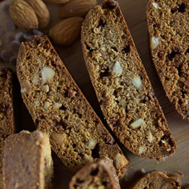 Whole Wheat Cinnamon & Almond Biscotti