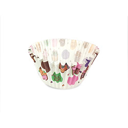12cm Cupcake & Dots Muffin Liner