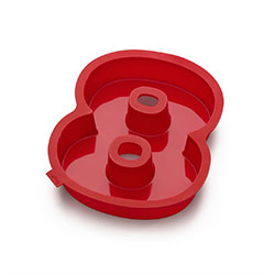 Silicone No 8 Cake Mould by Lekue