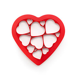 Lekue Heart Cookie Cutter Puzzle