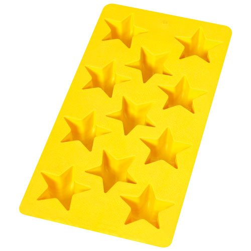Lekue Star Chocolate and Ice Cube Tray, Yellow