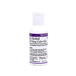 Sugarin Orchid Icing Gel Color