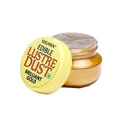 Sugarin Edible Brilliant Gold Lustre Dust