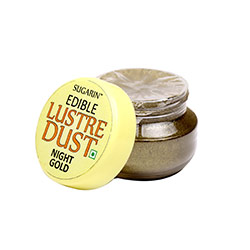 Sugarin Edible Night Gold Lustre Dust