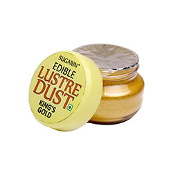 Sugarin King's Gold Edible Lustre Dust