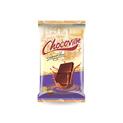 Chocoville Milk Compound Chocolate Slab