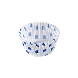 Ecopack Blue Dots Small Muffin Liner