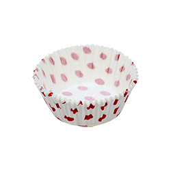 Ecopack Red Dots Large Muffin Liner