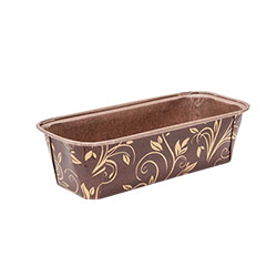 Ecopack Brown Large Plum Cake Mould