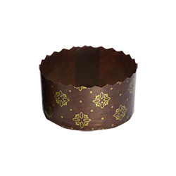 Ecopack Brown & Gold Choco Lava Cup