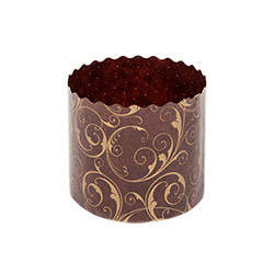 Ecopack Brown Panettone Muffin Cup