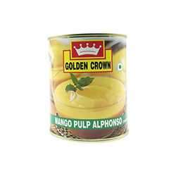 Alphonso Mango Pulp by Golden Crown