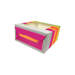 Reliable Multicolor Cake Box with Window