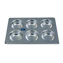 Rolex 6 Cup Aluminium Muffin Pan